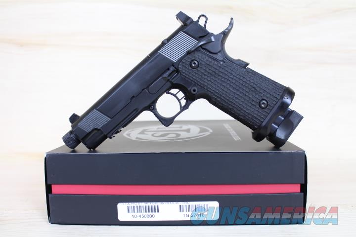 "STI HOST 2011 4"" .45acp 10-450000 Night sights FREE SHIP NO CC FEE Silencer Ready  Guns > Pistols > STI Pistols"