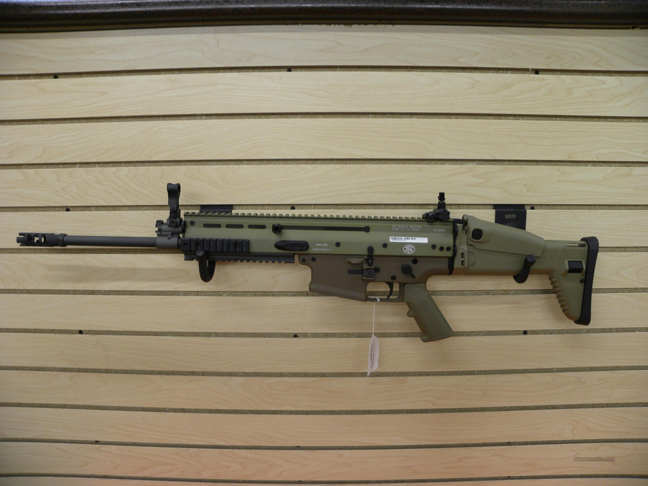 FN SCAR 17 7.62 FDE  Guns > Rifles > FNH - Fabrique Nationale (FN) Rifles > Semi-auto > Other