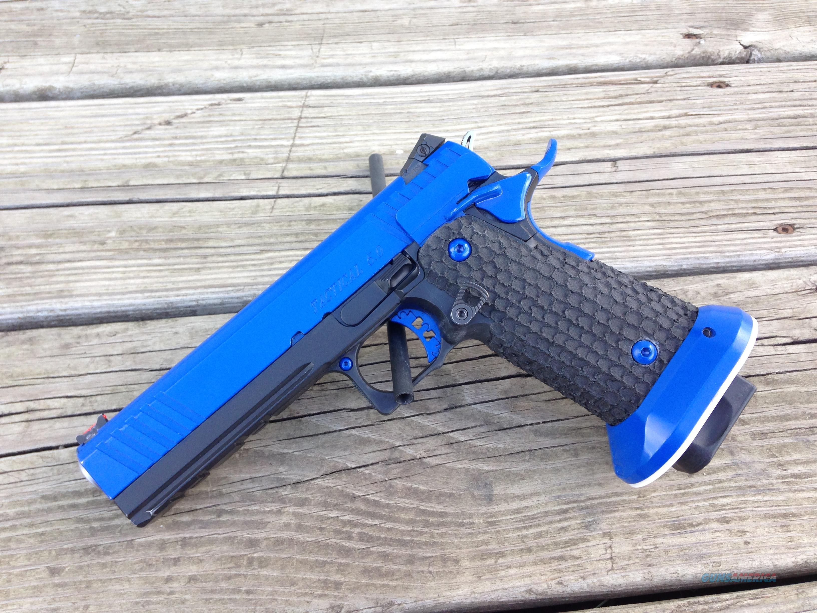*Custom* STI 5.0 Tac 2011 9mm Competition Ready  Guns > Pistols > STI Pistols