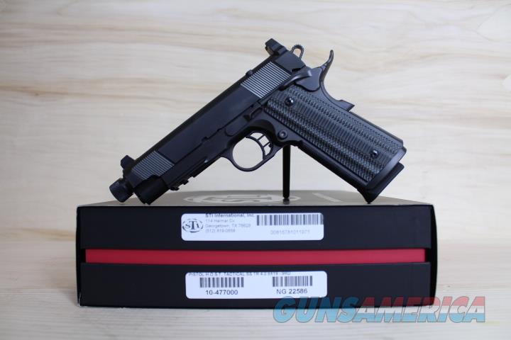 "STI HOST 1911 4"" .9mm 10-477000 Night sights 9MM NO CC FEE Silencer Ready  Guns > Rifles > S Misc Rifles"