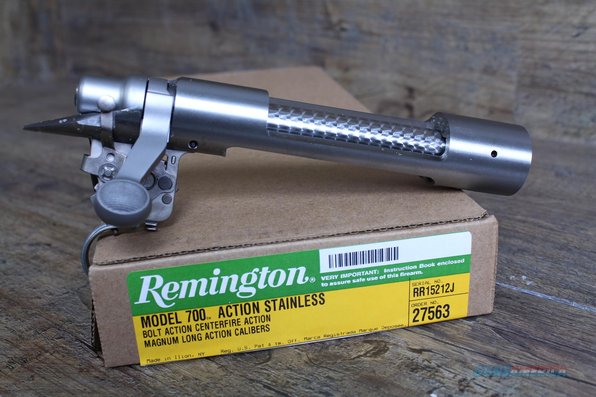 Remington 700 LA MAG Stainless Receiver .550 27557  Guns > Rifles > Remington Rifles - Modern > Model 700 > Tactical
