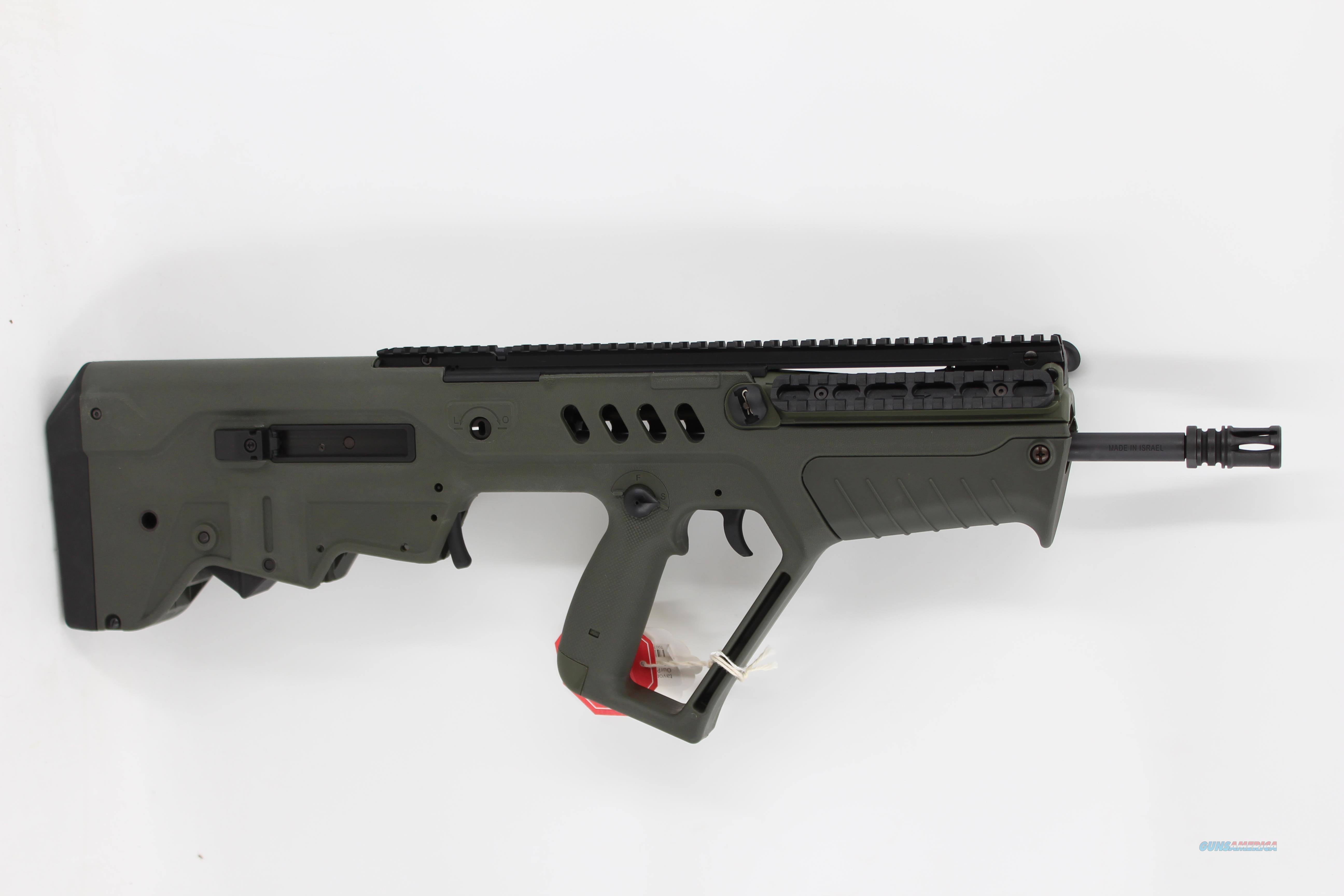 "IWI Tavor SAR - 5.56 OD Green 16.5"" Barrel  Guns > Rifles > IWI Rifles"