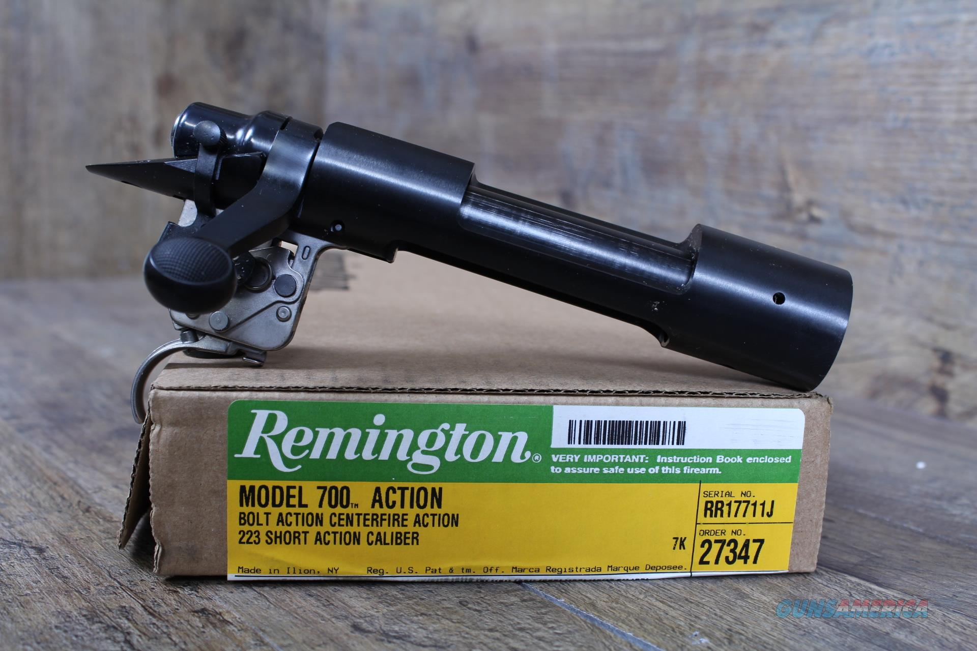"Remington 700 SA Blued Receiver .384"" XMARK 27347  Guns > Rifles > Remington Rifles - Modern > Model 700 > Tactical"