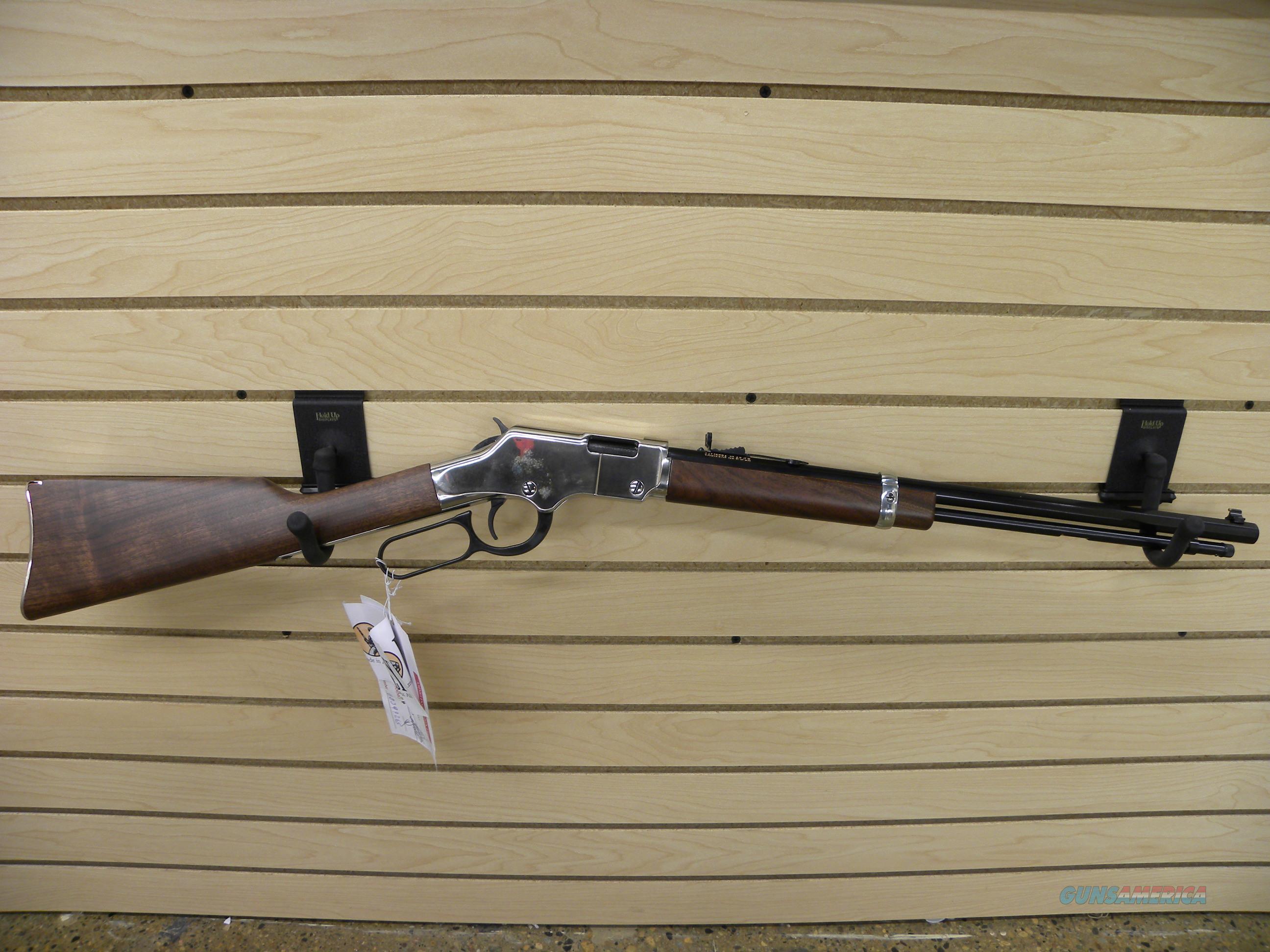 Henry Silver Boy .22lr H004S  Guns > Rifles > Henry Rifle Company