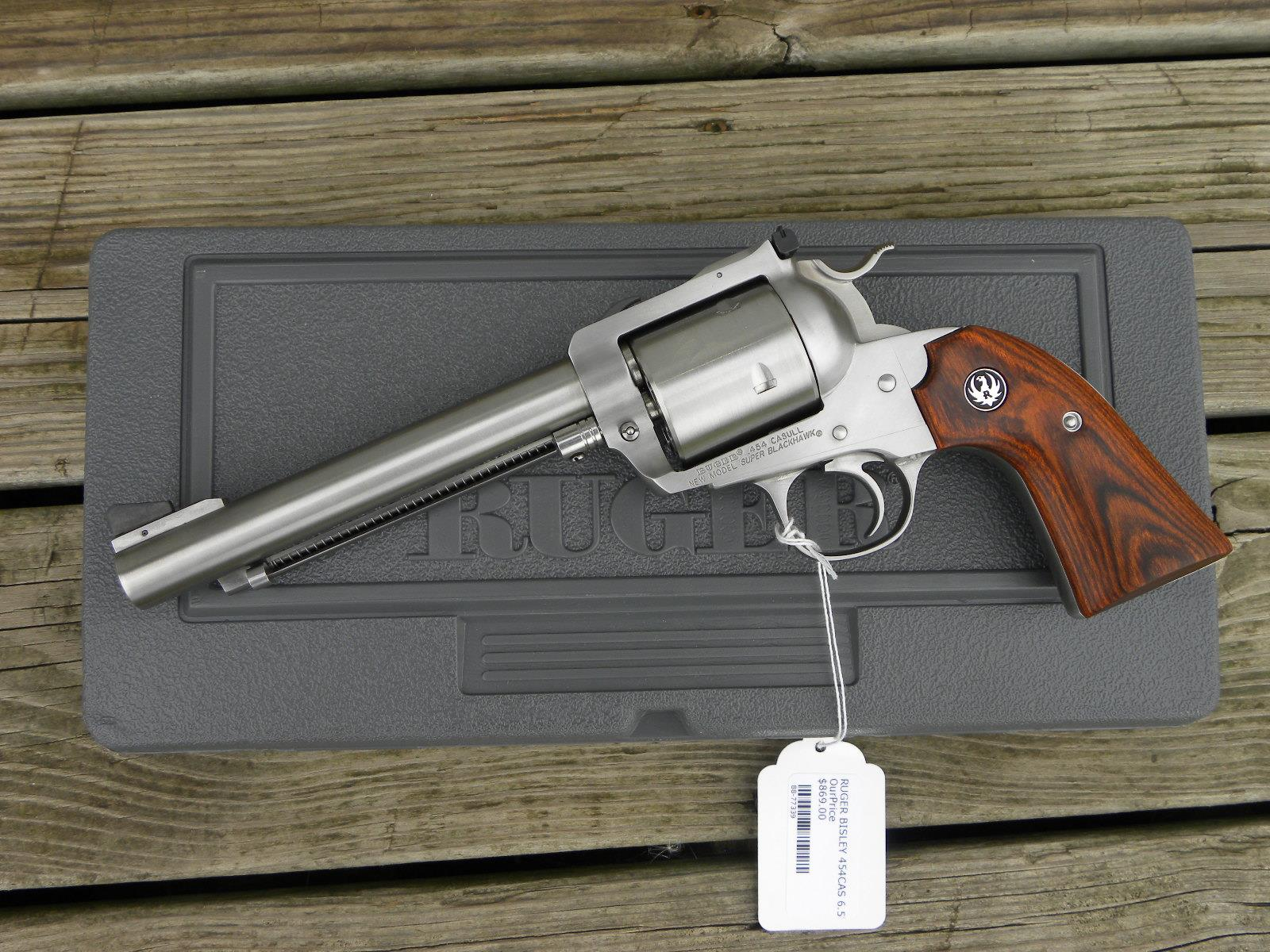 New Ruger Super Blackhawk #0871 .454 Lipseys   Guns > Pistols > Ruger Single Action Revolvers > Blackhawk Type