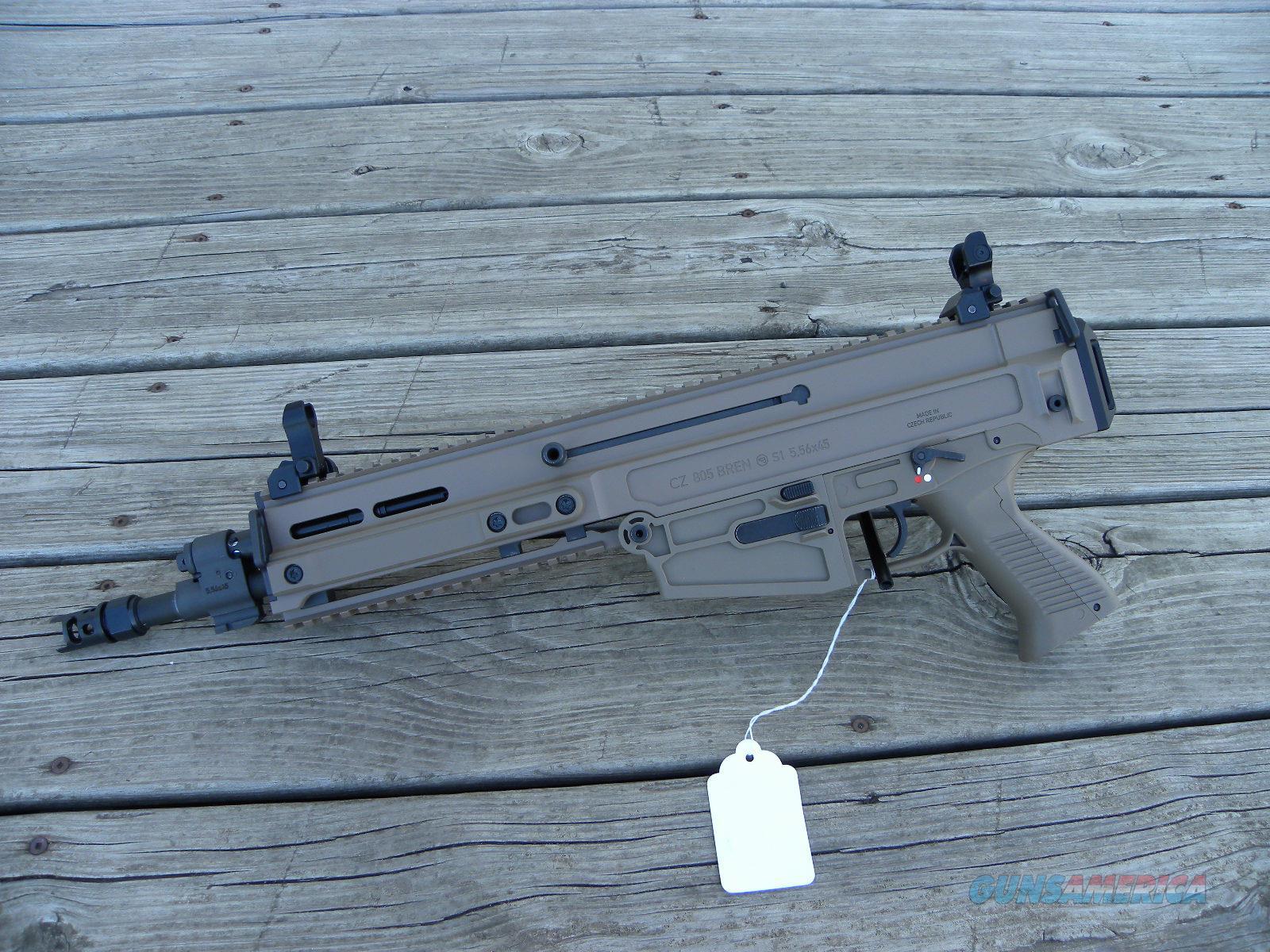 "NIB CZ 805 Bren S1 Piston Pistol 11"" FDE 91362  Guns > Pistols > CZ Pistols"