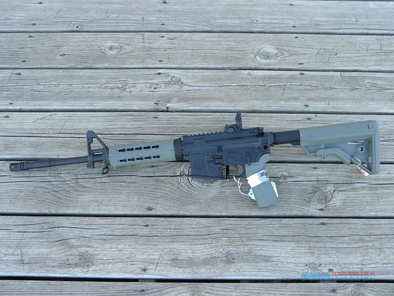 Sig Sauer M400 B5 Foliage Keymod w/ sights! 5.56  Guns > Rifles > Sig - Sauer/Sigarms Rifles