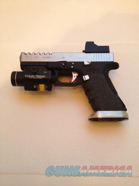 Glock 22 Custom 40 Cal For Sale