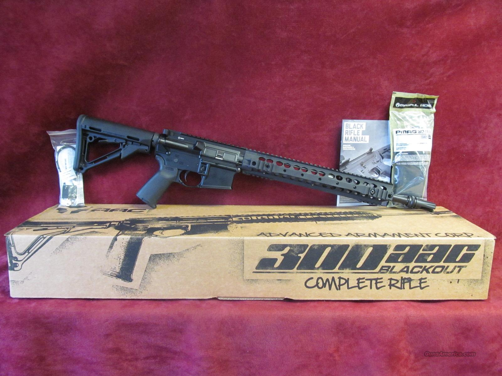 "AAC MPW 300 Blackout 101997 AR 16""  Guns > Rifles > AR-15 Rifles - Small Manufacturers > Complete Rifle"