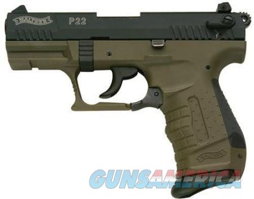 Walther P22 22LR CA MILITARY 3.42-inch  Guns > Pistols > Walther Pistols > Post WWII > P22
