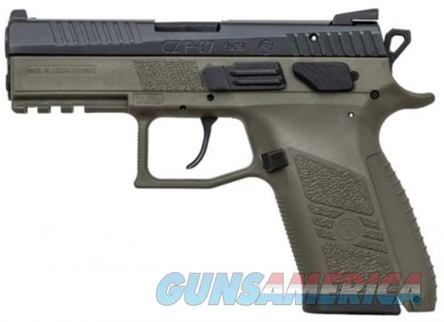 CZ P-07 Black/OD Green 9mm 3.7-inch 15Rds  Guns > Pistols > L Misc Pistols