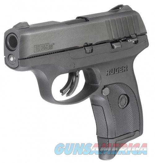Ruger EC9s Black 9mm 3.12-inch 7Rds  Guns > Pistols > L Misc Pistols
