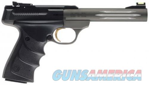 Browning Buckmark Lite Gray .22LR 5.5-inch  Guns > Pistols > Browning Pistols > Buckmark