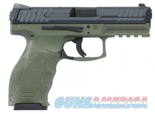 H&K VP9 9MM Olive Drab Green / Black, 4 inch, 10 rd  Guns > Pistols > L Misc Pistols