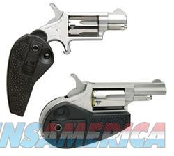 North American Arms Mini-Rev Holster / Grip Combo Stainless .22 LR 1.125-inch 5Rds  Guns > Pistols > L Misc Pistols