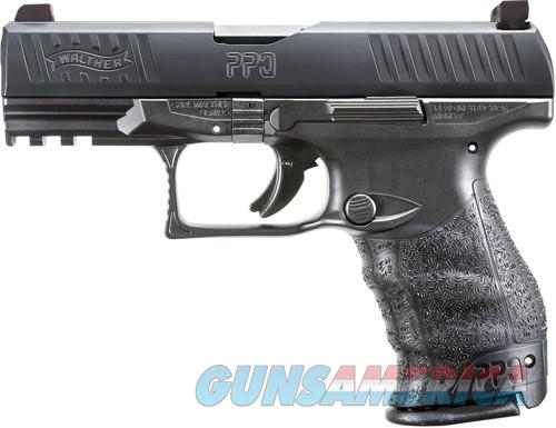 Walther PPQM2 Black 9mm 4-inch 15Rds Tritium Night Sights  Guns > Pistols > Walther Pistols > Post WWII > P99/PPQ
