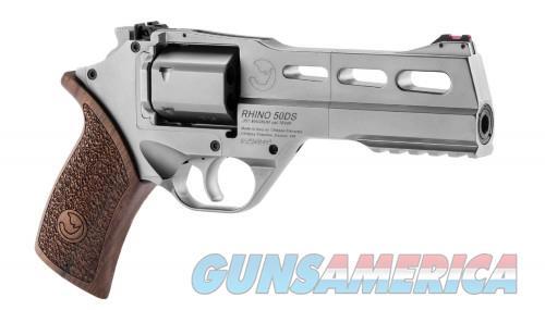 Chiappa Rhino 50 SAR Chrome .357Mag 5-inch 6rd  Guns > Pistols > Chiappa Pistols & Revolvers > Rhino Models