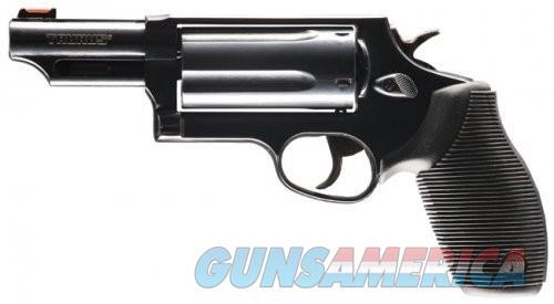 Taurus Judge Black .45 LC /. 410 GA 3-inch 5rd Fiber Sight  Guns > Pistols > L Misc Pistols