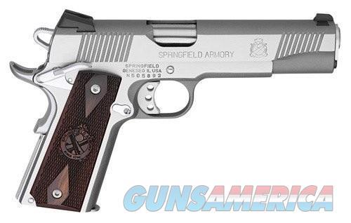 Springfield 1911 Loaded Stainless Steel .45ACP 5-inch 7rd CA Model  Guns > Pistols > L Misc Pistols