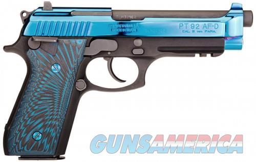Taurus PT-92 9mm 1-920151-PVD2  Guns > Pistols > L Misc Pistols