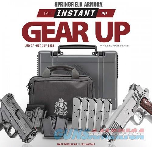 Springfield Armory GEAR UP PKG 45 TNS 3.3 BLK XDSG93345TIGU  Guns > Pistols > L Misc Pistols