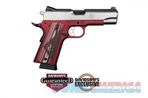 Ruger SR1911-CMD 45AP PST RED DE  Guns > Pistols > L Misc Pistols