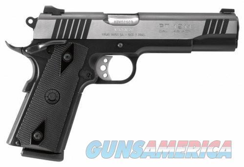 Taurus 1911 Pistol .45ACP 5-inch 8rd Two Tone  Guns > Pistols > Taurus Pistols > Semi Auto Pistols > Steel Frame
