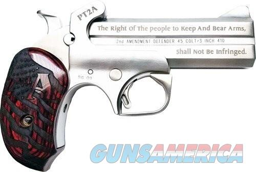Bond Arms PT2A-Protect the 2nd Amendment Stainless .45LC/.410Ga  4.25-inch 2rd  Guns > Pistols > L Misc Pistols