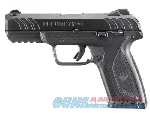 Ruger Security-9 Black 9mm 4-inch 15Rds  Guns > Pistols > L Misc Pistols