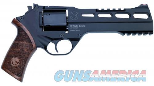 Chiappa Rhino 60DS Black 9mm 6-inch 6rd  Guns > Pistols > Chiappa Pistols & Revolvers > Rhino Models