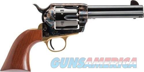 Cimarron Pistolero Revolver Blued 45 LC 4.75 Inch 6Rd  Guns > Pistols > Cimarron Pistols