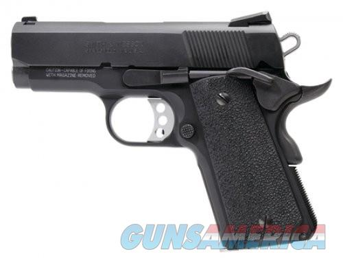Smith and Wesson SW1911 Pro Series Sub-Compact Black 9mm 3-inch 8Rds  Guns > Pistols > L Misc Pistols