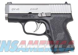 Kahr Arms CT40 Black / Stainless .40 SW 4-inch 7Rds  Guns > Pistols > L Misc Pistols