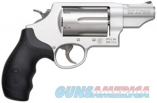 Smith Wesson Governor Revolver - Stainless Steel  Guns > Pistols > L Misc Pistols