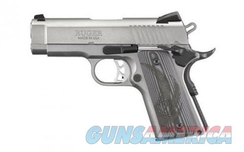 Ruger .45 ACP, Officer Style 7 Rounds Low Glare Stainless  Guns > Pistols > L Misc Pistols