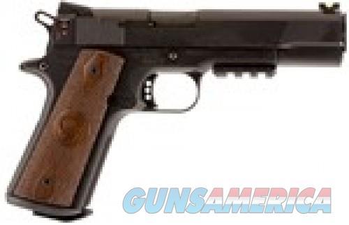 """Chiappa Firearms CHIAPPA 1911-22 CUSTOM .22LR 5"""" AS 10RD RAIL BLACK/WOOD  Guns > Pistols > Chiappa Pistols & Revolvers > .22 Cal 1911"""
