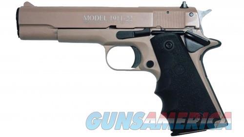 CHIAPPA 1911 22LR 5 FUL TAN HOGUE GRIPS 2 10RD  Guns > Pistols > L Misc Pistols