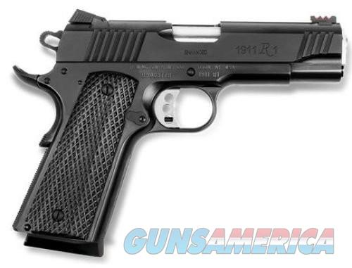 Remington 1911 R1 Enhanced Commander .45ACP 4.25 Inch 8 Rd Black  Guns > Pistols > Remington Pistols - Modern > 1911