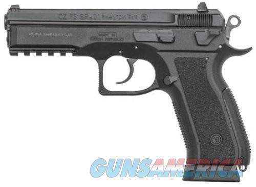 CZ 75 SP-01 Phantom Black 9mm 4.72-inch 18Rds  Guns > Pistols > L Misc Pistols