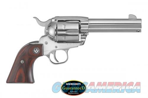 Ruger New Vaquero 45C/45AP 4.62 Black Stainless Steel  Guns > Pistols > Ruger Single Action Revolvers > Cowboy Action