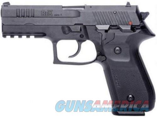 Rex Zero 1 Standard Black 9mm 4.25-inch 17Rds Single/Double  Guns > Pistols > L Misc Pistols