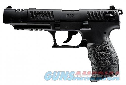Walther P22 Pistol 22LR Target Black 5-inch USA  Guns > Pistols > L Misc Pistols