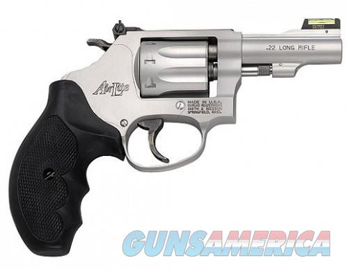 Smith and Wesson 317 3 inch Airlite 22 LR RB HiViz  Guns > Pistols > Smith & Wesson Revolvers > Pocket Pistols