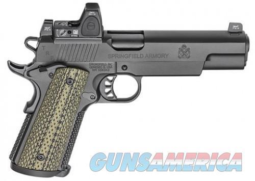 SPRINGFIELD 1911 TRP 10MM RMR SIGHT TACTICAL RESPONSE PISTOL  Guns > Pistols > L Misc Pistols