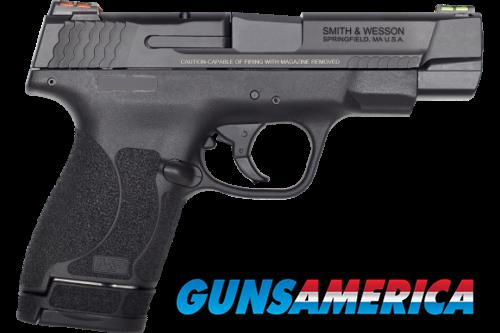 "Smith & Wesson M&P9 Shield 11787 PFMC 9M 2.0 4"" FO(GR/RD)8/7rd  Guns > Pistols > L Misc Pistols"
