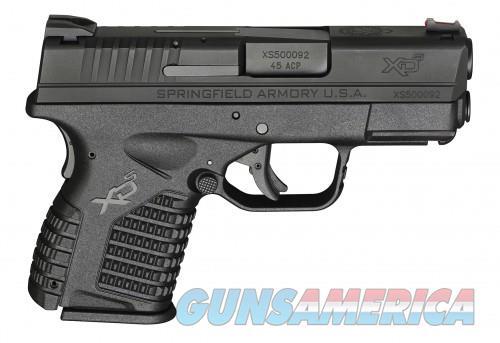 Springfield Armory XD-S Black .45 ACP 3.3-inch 5Rds  Guns > Pistols > L Misc Pistols