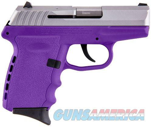 SCCY CPX-2 Purple / Stainless Steel 9mm 3.1-inch 10 Rd  Guns > Pistols > SCCY Pistols > CPX2