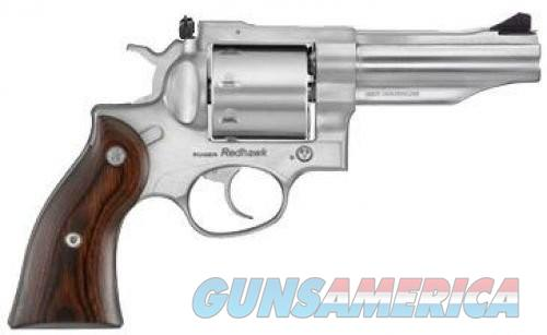 Ruger Redhawk .357Mag 4.2-inch 8rd Stainless Adjustable Sights  Guns > Pistols > Ruger Double Action Revolver > Redhawk Type