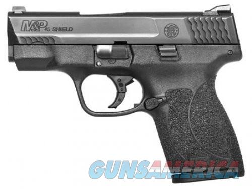 Smith and Wesson M&P45 2.0 Shield Black .45 ACP 3.3-inch 7Rd Night Sights No Thumb Safety  Guns > Pistols > L Misc Pistols