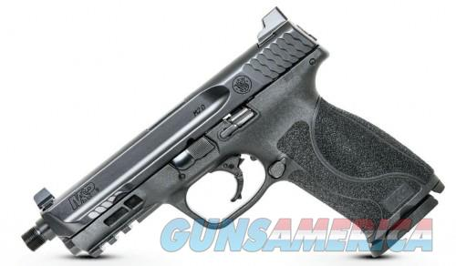 Smith and Wesson M&P9 M2.0 Threaded Barrel Black 9mm 4.6-inch 17Rds Tall Sights  Guns > Pistols > Smith & Wesson Pistols - Autos > Shield